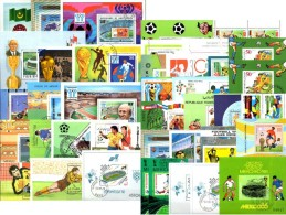 Lot Fußball 2016 UEFA 40 Blocks **/o 275€ Fußballer Spieler Bloques Hb Hojitas Topics Sport Blocs M/s Sheets Bf Soccer - Stamps