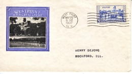 U.S.  FDC   COVER   WEST  POINT   IOOR  COVER - United States