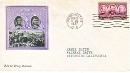 U.S.  FDC   COVER   HEROES  AMERICAN  ARMY    IOOR  COVER - United States