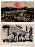 BELGIQUE . LEUVEN . LOUVAIN . LE JUBÉ DE L'ÉGLISE SAINT-PIERRE & PALAIS DE JUSTICE . 2 CARTES POSTALES - Réf. N°15805 - - Leuven