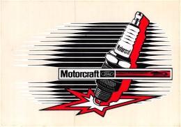 "05697 ""MOTORCRAFT FORD"" ETICHETTA AUTOADESIVA ORIGINALE - Adesivi"