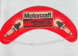 """05698 """"MOTORCRAFT (FORD)"""" VISIERA PUBBLICITARIA ORIGINALE - Caps"""
