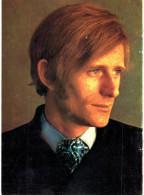 Thème - -célébrité - Nino Ferrer Chante Le Telefon Vu Par Guy Couttin (carte Souple) - Publicité