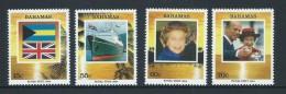 Bahamas 1994 Royal Visit Set Of 4 MNH - Bahamas (1973-...)