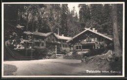 AK Dittersbach / Jetrichovice, Gasthaus Balzhütte - Tschechische Republik