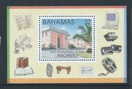 Bahamas 1996 Archives Miniature Sheet MNH - Bahamas (1973-...)
