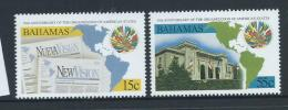 Bahamas 1998 American States Organisation Set 2 MNH - Bahamas (1973-...)