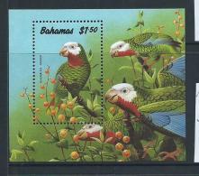 Bahamas 1990 Parrot Bird Miniature Sheet MNH - Bahamas (1973-...)