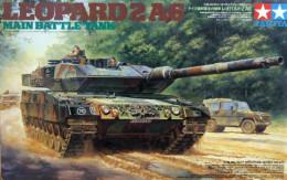 Leopard 2A6  1/35 (  Tamiya ) - Military Vehicles