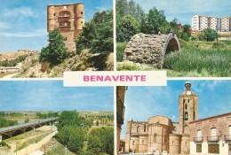 PW986 - POSTAL - BENAVENTE - VARIAS VISTAS - Zamora