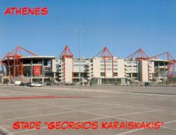 AK Stadion Postkarte Georgios Karaiskakis Olympiacos Piraeus Olympiakos Piräus Griechenland Greece Hellas Pireas Stadium - Fussball