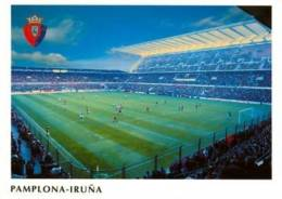 AK Stadion Postkarte Estadio CA Osasuna Pamplona SPAIN Spain Spanien España Iruña Stadium Postcard Stadio Stade Estadio - Fussball