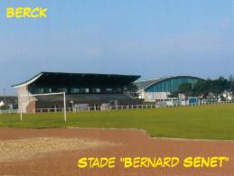 AK Stadion Postkarte Stade Bernard Senet Berck FRANCE Frankreich Stadium Postcard Stadio Estadio Foot Football Fußballl - Fussball