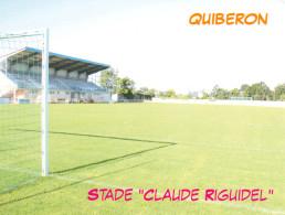 AK Stadion Postkarte Stade Claude Riguidel Quiberon Frankreich FRANCE Stadio Estadio Football Stadium Fußball Foot - Fussball