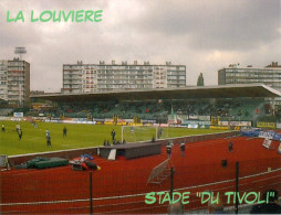 AK Stadion Postkarte Stade Du Tivoli La Louviere Louvière RAA Belgien België Belgique Belgium Foot Stadium Postcard - Fussball