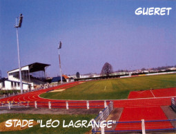 AK Stadion Postkarte Stade Leo Lagrange Gueret FRANCE Frankreich Football Stadium Postcard Stadio Estadio Foot Calcio - Fussball