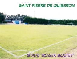 K Stadion Saint Pierre De Quiberon Stade Roger Boutet St. Frankreich FRANCE Stadio Estadio Stadium Postcard Quibeiron - Fussball