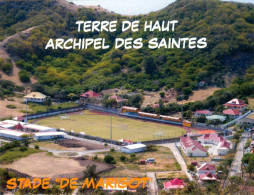 AK Stadion Stade De Marigot Terre De Haut Archipel Saintes Guadeloupe Frankreich FRANCE Stadium Postcard Stadio Estadio - Fussball