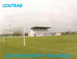 AK Stadion Postkarte Complexe Sportif D'Audebeau Coutras Frankreich FRANCE Stade Stadio Estadio Stadium Postcard FRA - Fussball
