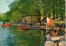Lyon Parc De La Tete D'or Le Lac Et L'embarcadere 1976  CPSM Ou CPM - Otros