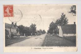 CPA 41- COUDDES - ROUTES DE CONTRES - Frankreich