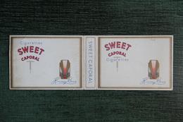 """Etui à Cigarette  , 20 Cigarettes ,  """" SWEET CAPORAL  """"- Manufacture  CANADA - Etuis à Cigarettes Vides"""