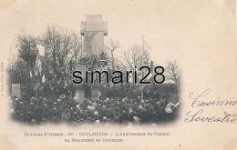 COULMIERS - N° 80 - L'ANNIVERSAIRE DU COMBAT AU MONUMENT DE COULMIERS - Coulmiers