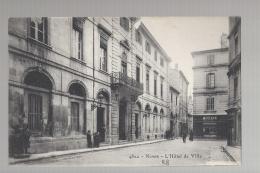 CPA 30- NIMES - L'HOTEL DE VILLE - MAISON FIZE - Nîmes