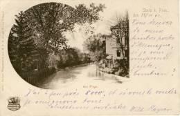 Stolp I. Pom.  Am Fluss-Kruse Stettin Wappenserie - Polen