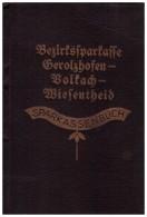 Sparbuch Gerolzhofen - Volkach - Wiesentheid 1940-47 , A. Hildegard , Bank , Sparkasse !!! - Gerolzhofen