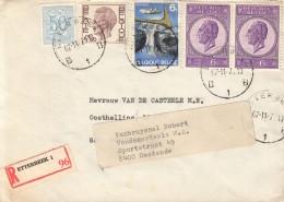 OMSLAG AANGETEKEND 1970 ETTERBEEK 96 OOSTENDE - Belgique