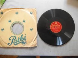 FELIX LECLERC NOTRE SENTIETR ET LE PETIT BONHEUR  POLYDOR - 78 T - Disques Pour Gramophone