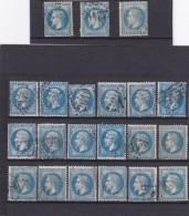 LOT DE N° 22 ET N° 29 Pour étude - REF AC - Marcophily (detached Stamps)