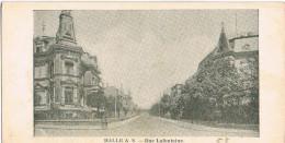 AK Halle/Saale, Rue Lafontaine - Halle (Saale)