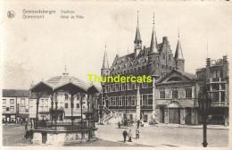 CPA GEERAARDSBERGEN STADHUIS GRAMMONT HOTEL DE VILLE - Geraardsbergen