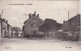 SAMOIS-sur-SEINE - La Mairie - Rare Avec La Voiture - Animé - Samois