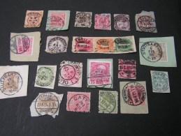 == Europa Klassik Lot Teils Briefstücke , Ausgesuchte Lesbare Stempel , Berlin 56 , Stuttgart 6 Und 14 - Briefmarken