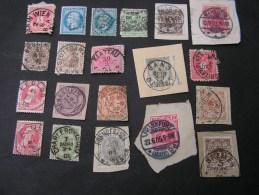 == Europa Klassik Lot Teils Briefstücke , Ausgesuchte Lesbare Stempel , Berlin 4 , Bremen 5 - Briefmarken