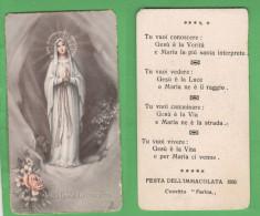 Santino Santini Madonna Immacolata Concezione Convitto Farina Vicenza 1956 - Images Religieuses