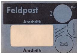 Konvolut Feldpost Blanko Im Umschlag , 18x Blanko Brief , Wehrmacht Dienstsiegel , Marke , Post , Brief  !!! - 1939-45
