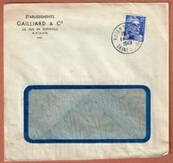 T.D. Rouen St. Sever 11.10.1949   Entête: Établissements Gailliard & Cie - France