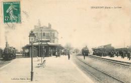 27 - Eure - Serquigny - Gare - Serquigny