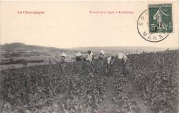 51- LA CHAMPAGNE - TRAIVAIL DE LA VIGNE - LE SARCLAGE - Altri Comuni