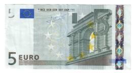 Finlandia Suomi Finland 5 €  Trichet L E010H6 Circulated Cod.€.062 - EURO