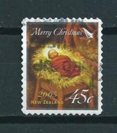 2005 New Zealand 45 Cent Self-adhesive/zelfklevend Christmas,noël,weihnachten,kerst Used/gebruikt/oblitere - Nieuw-Zeeland