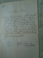 D137988.33 Old Document   Hungary -BRÜSAU -BREZOVA  Czech Rep. Moravia - Franciscus Michele - Tuvasz -1871 - Engagement