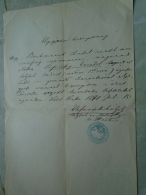 D137988.35 Old Document   Hungary   Antal BACHMANEK (Moravia) -Erzsébet Sipiczky  Pest  1871 - Fiançailles