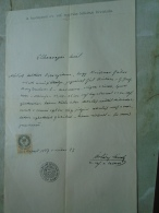 D137988.36 Old Document   Hungary    Gábor KRISZNER - Borbála GÁL - Máramarossziget Sighetul M. 1877 - Fiançailles