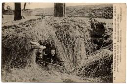 CPA Grande Guerre 1914 Abrits Construits Par Les Belges Pour Se Garantir Du Froid Posté De Salonique 1916 9403 - War 1914-18
