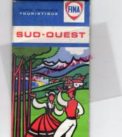 40-64-47-31-65-32-CARTE TOURISTIQUE FINA- SUD OUEST -PAYS BASQUE- 1968 - Dépliants Touristiques